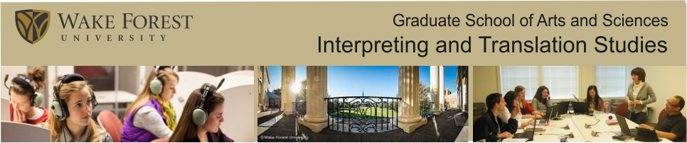 Graduate Program in Interpreting and Translation Studies